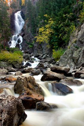 Fish Creek Falls Steamboat CO